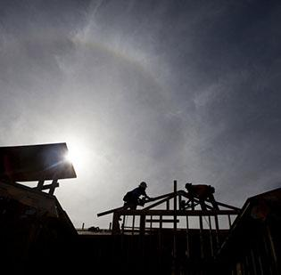 More than 1,700 residential new building permits were issued locally in 2012, up 3.3 percent from the previous year.