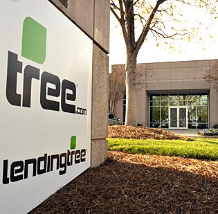 lendingtree parent tree com sells mortgage unit to discover financial services charlotte business journal