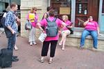 Planned Parenthood rally stymied by roadblocks