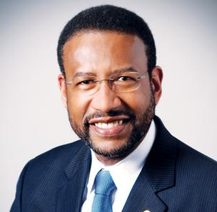 Johnson C. Smith University President Ron Carter