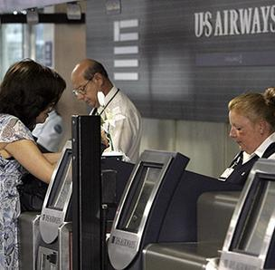 US Airways, which has its largest hub at Charlotte Douglas International Airport, set new traffic records in December.
