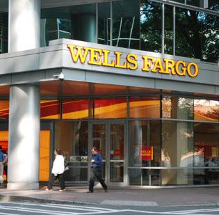 Wells Fargo's branch in uptown Charlotte. The bank faces a lawsuit brought by federal prosecutors that alleges mortgage fraud.