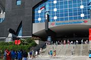 Bank of America Stadium was open to the public for Saturday's Fan Fest.
