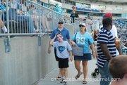Lots of families were in attendance at Saturday's Fan Fest.