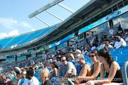 The Carolina Panthers hosted the annual Fan Fest free practice event on Saturday.