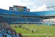 Bank of America Stadium seats 72,000.