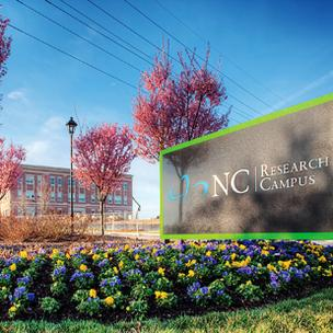 The UNC Chapel Hill Nutrition Research Institute is part of the N.C. Research Campus in Kannapolis, a 350-acre life-sciences hub focused on health, nutrition and agriculture.