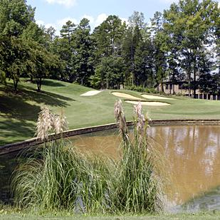 Firethorne Country Club is the Charlotte area's toughest private golf course, with a slope rating of 147.