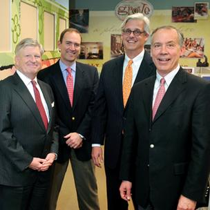 Campus Crest Communities' management team, from left: Earl Howell, president; Donnie Bobbitt, chief financial officer; Ted Rollins, co-chairman and chief executive; and Michael Hartnett, co-founder.