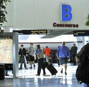 No. 4 on the list is Charlotte-Douglas International Airport, with an on-time departure rate of 88.91 percent.