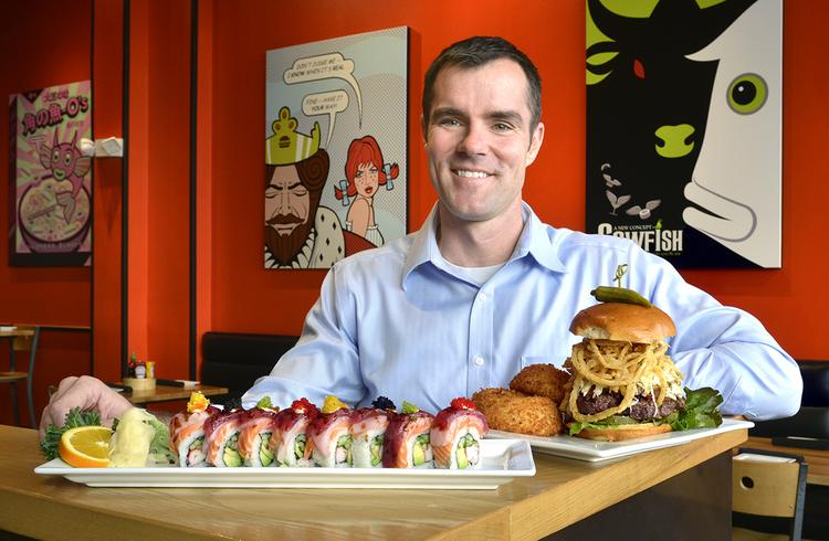 """Alan Springate says The Cowfish uses social media to interact with """"Cowfish junkies"""" and monitor customer satisfaction."""