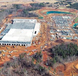 Apple data center in Catawba County