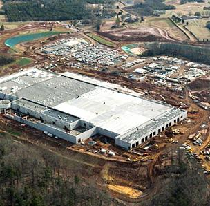Apple's server farm in Maiden, NC