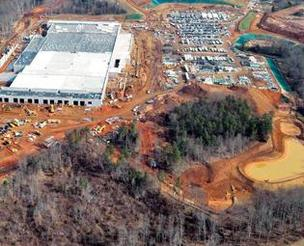 Apple Inc.'s data center in Catawba County