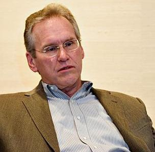 Bill Johnson, who had been chief executive of Progress Energy Inc., has resigned from the newly merged Duke Energy Corp.