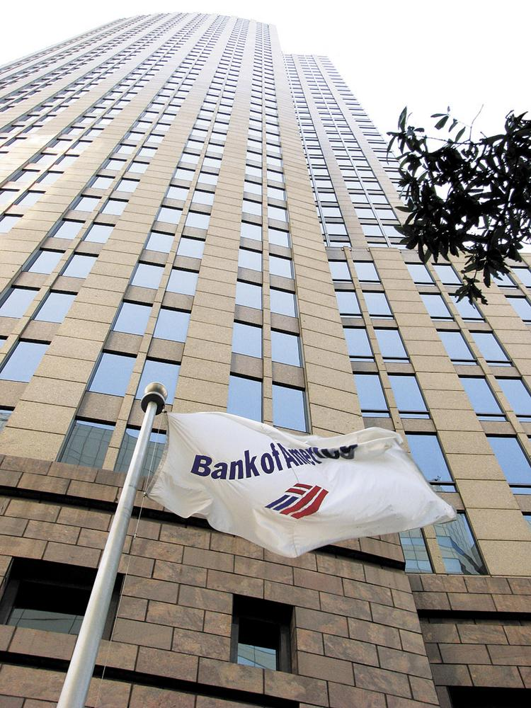 Bank of America Corp. (NYSE:BAC) is based in uptown Charlotte.