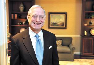 Park Sterling CEO Jim Cherry will soon lead the Charlotte area's largest community lender.