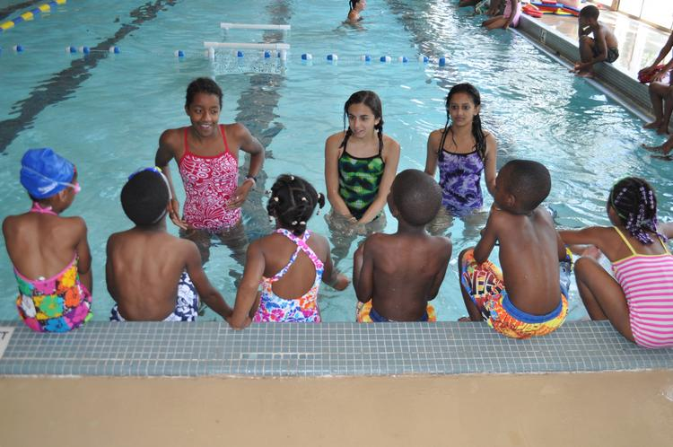 Services of A Child's Place include swimming lessons.
