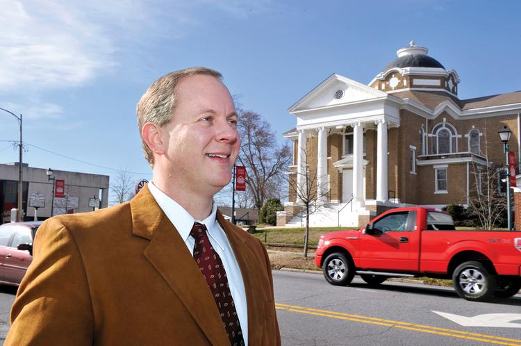 Cliff Brumfield started work in January as executive director of the Lincoln Economic Development Association.