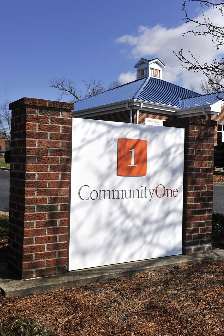 CommunityOne Bank recently introduced a new brand. The new logo will also replace Bank of Granite signs post-merger.