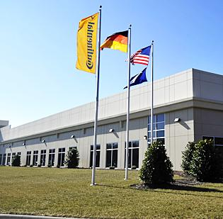 Continental Tire the Americas is based in northern Lancaster County.