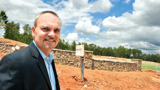 Jon Hardy, Lennar's Charlotte division president, says the builder sees a wealth of opportunities in locations such as the Springfield community in Fort Mill.