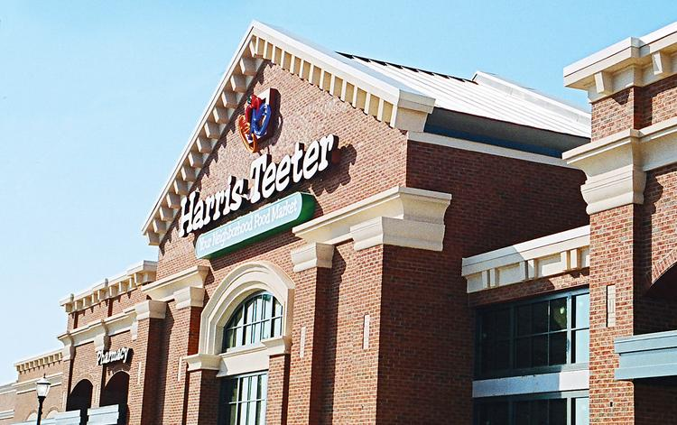 Harris Teeter is based in Matthews. The supermarket chain operates 211 stores in eight states.