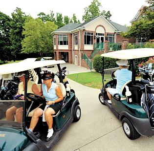 The latest changes at Highland Creek — such as new golf carts and improvements to the course — are designed to boost revenue. The course owner says memberships are up this year.