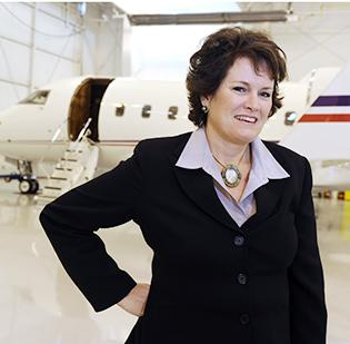 Jennifer Guthrie has led In-Flight Crew Connections through highs and lows in the corporate-aviation market. The company provides staffing and administrative services for business aircraft.