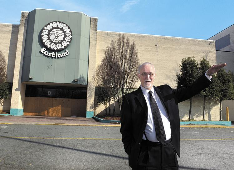 City Council member John Autry has been a big proponent of the effort to lure a film studio complex to the Eastland site.