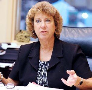 Judy Rose, athletic director, University of North Carolina at Charlotte