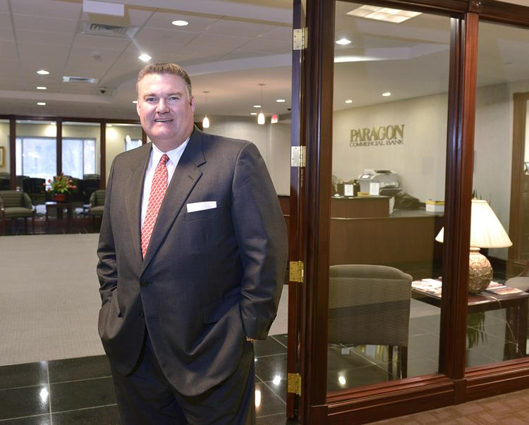 Phil Jurney is market president for Paragon Commercial Bank.