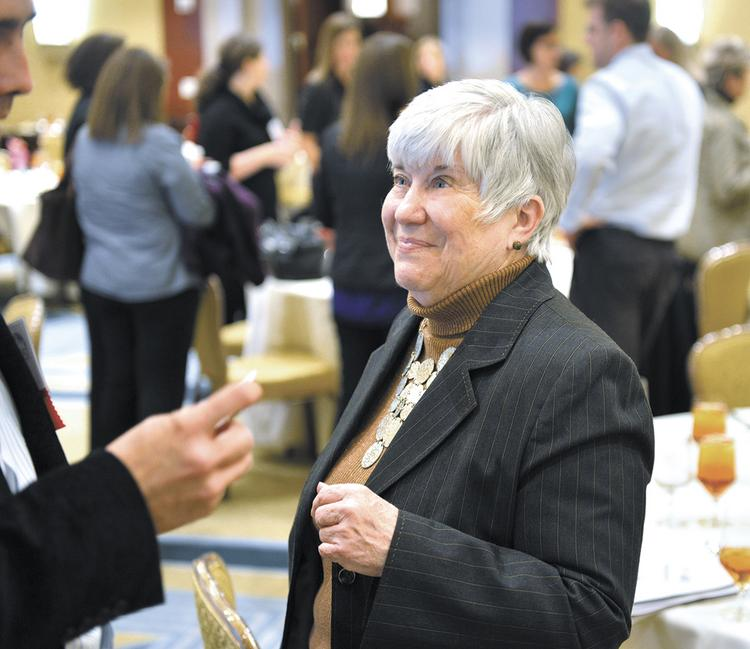 Mary Hopper, who has been executive director of University City Partners since 2003, has left the organization.