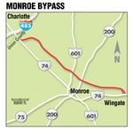 Monroe Bypass alternative — 'superstreets' — suggested by new engineering report