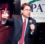 Pat McCrory plans for the office of NC governor