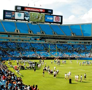 The Carolina Panthers might find support for stadium upgrades in the Republican-led state government.