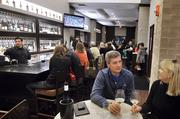Dean & Deluca's wine bar at Phillips Place.