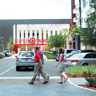The planned SouthPark Target will be similar to the 22-acre SoDo shopping center in Orlando, Fla.