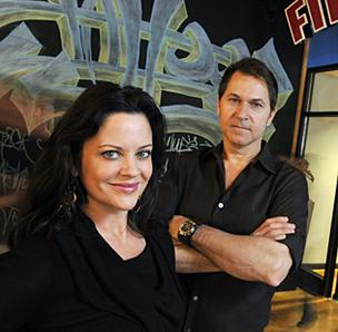 Tattoo Projects' partners Buffy McCoy Kelly and Rudy Banny