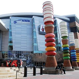 Time Warner Cable Arena is one of several Charlotte venues that will host events tied to the Democratic National Convention in September.