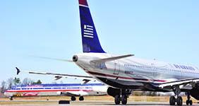 US Sen. Bob Casey, D-Pa., is urging US Airways (NYSE: LCC) and American Airlines to consider southwestern Pennsylvania in its plans.