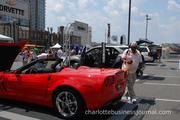 Car enthusiasts had plenty to look at in the Team Chevy village at Food Lion SpeedStreet.