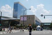 Part of the Food Lion SpeedStreet festival has been moved to bring fans closer to the NASCAR Hall of Fame.
