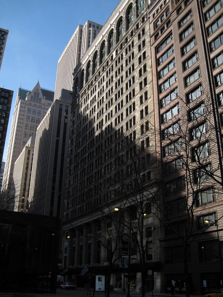 Chicago Public Schools headquarters in downtown Chicago.