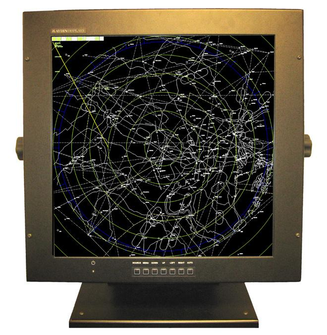 Sparton Corp. is buying Aydin Displays Inc., which makes LCD displays such as this one used in air traffic control systems.