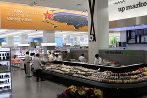 Walgreens' new Los Angeles flagship store will feature sushi made daily, fresh-brewed coffee and espresso, and a juice and smoothie bar.
