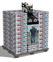 Point-of-purchase branding will promote the Jason Aldean-Coors partnership.