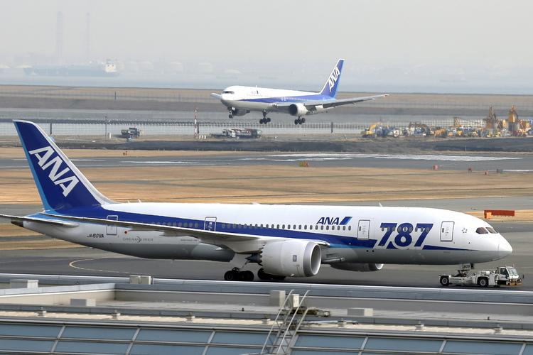 "A Boeing 787 operated by All Nippon Airways in Japan made an emergency landing Wednesday, after crews detected a ""burning-like smell"" and alarms indicated there was smoke in the forward area of the plane."