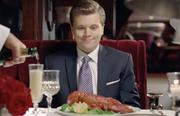 A young man in a new BMO Harris TV spot dreams of all the things he can buy with his first paycheck.