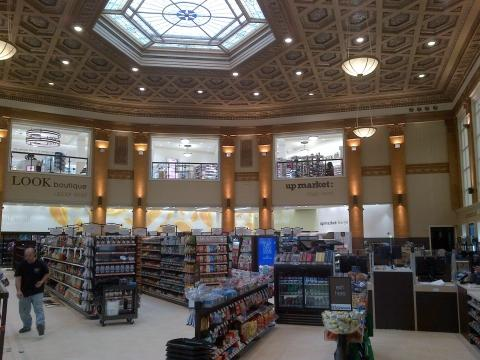 Walgreens has restored Chicago's historic Noel State Bank building into a new flagship store.